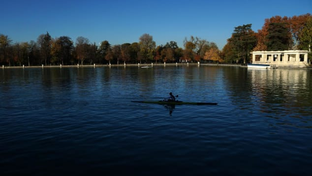 Head to Retiro Park for some relaxation.