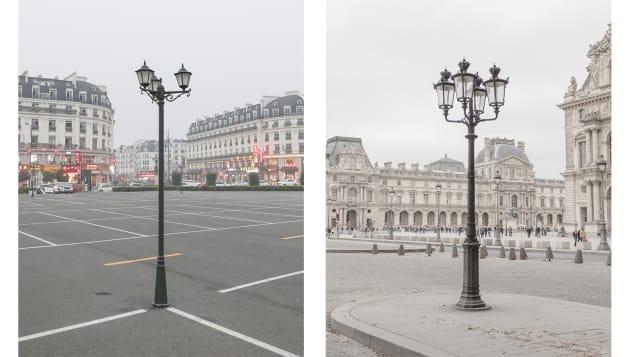 Francois Prost lamp post