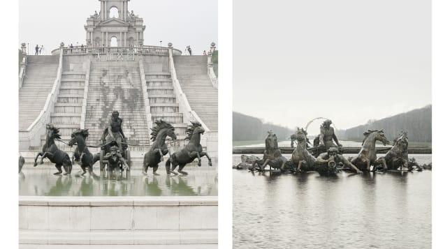 Francois Prost Paris fontaine neappolon versailles