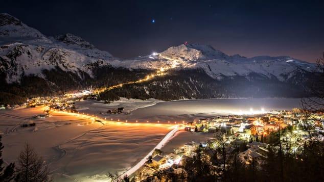 Private slopes in St Moritz - Kulm Hotel