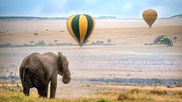 Olare Mara Kempinski balloon ride