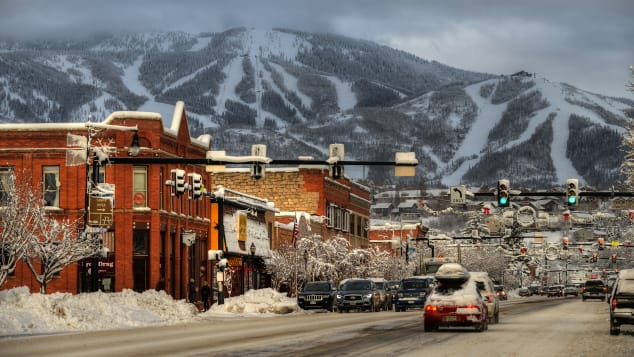 Steamboat Springs is the hometown of ski legends including Debbie Armstrong and Nelson Carmichael.