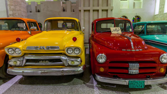 Star cars: The Sheikh Faisal Bin Qassim Al Thani Museum.