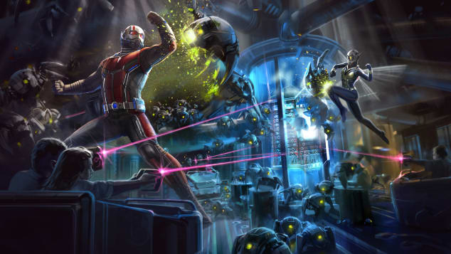 3. Disneyland Ant-Man