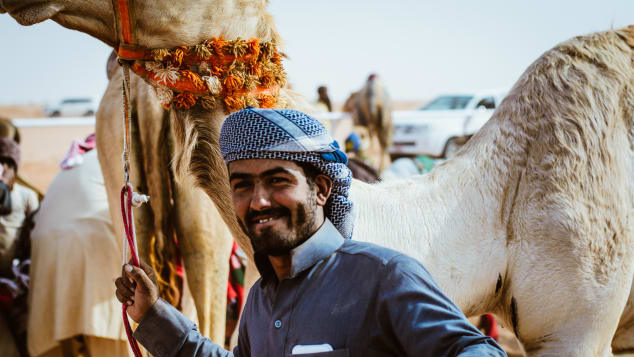Saudi Arabia's month-long King Abdulaziz Camel Festival  was open to foreigners this year.