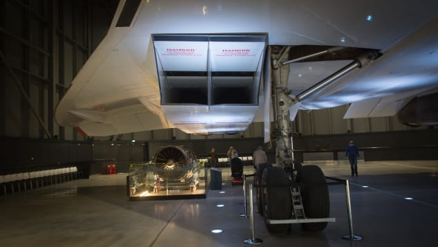 Concorde interior details