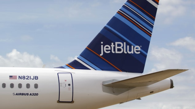 At number eight on the round-up is Jet Blue.