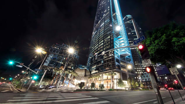 Spire73 is in the InterContinental Downtown Los Angeles, housed in the sparkling new Wilshire Grand Center.