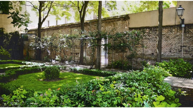 You can also find these gardens by searching online. Pictured here: Jardín del Príncipe de Anglona, Madrid, Spain.