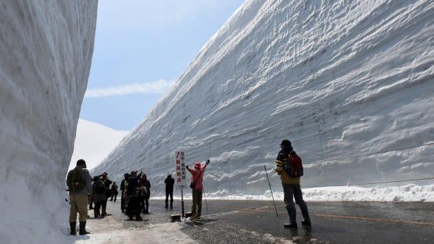 Tateyama Kurobe Alpone Route 立山・雪の大谷ウォーク⑦(2018.A-2-07)