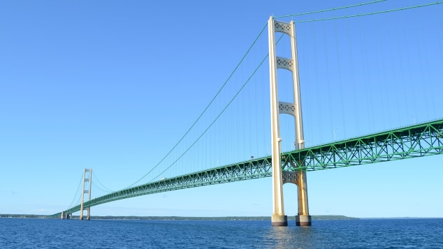 If you're too scared to drive across Mackinac Bridge, someone else will do it for you.