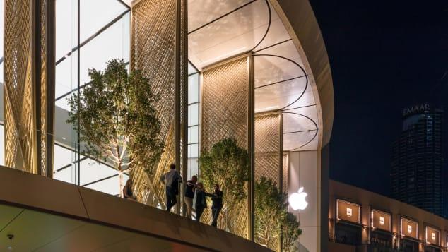 apple dubai mall foster + partners 1