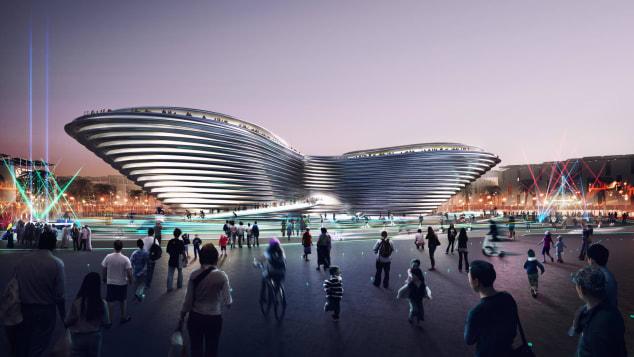 expo 2020 mobility pavilion dubai foster + partners 1