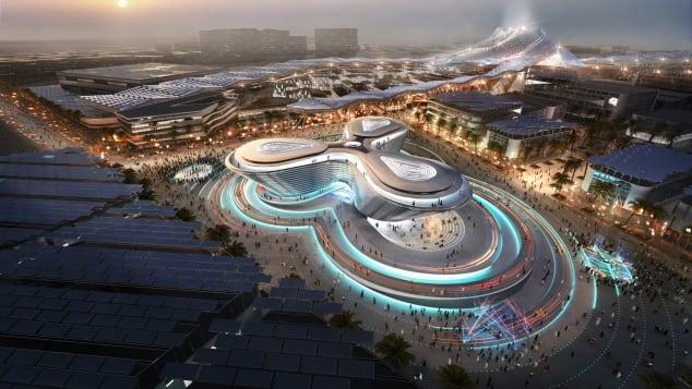 expo 2020 mobility pavilion dubai foster + partners 2