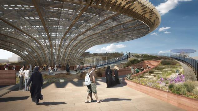 expo 2020 sustainability pavilion grimshaw 2