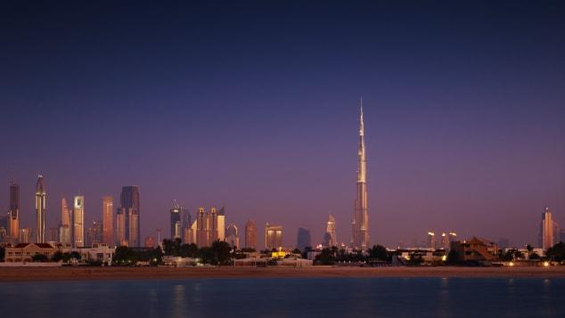 RESTRICTED burj khalifa dubai SOM story top