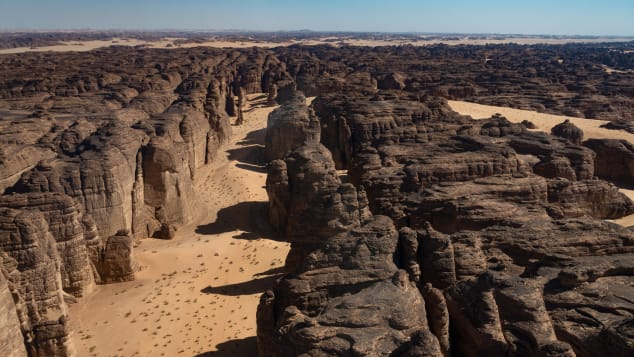 A massive archaeological survey has been launched in Al-Ula county, in north west Saudi Arabia, as the Kingdom prepares to develop the area and open up to mainstream tourism. Covering nearly 9000 square miles (22,500 sq km), Al-Ula county has a dramatic desert landscape. Courtesy of Royal Commission for Al-Ula