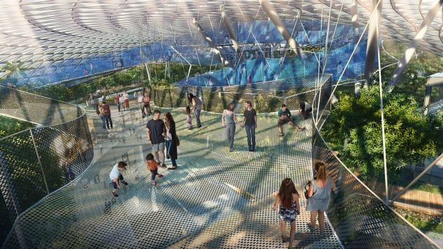 Singapore Changi Jewel Sky Nets