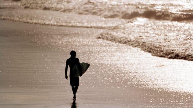 A Scenic Wategos Beach está posicionada logo abaixo do ponto mais oriental da Austrália continental.