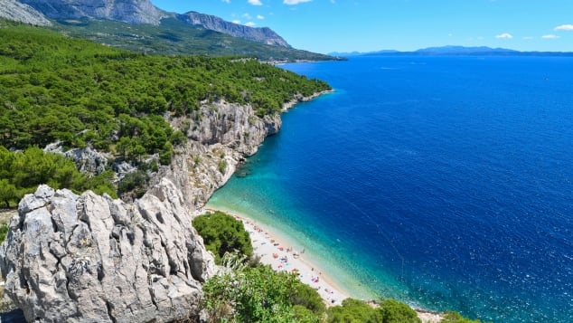 Nugal Beach, Makarska