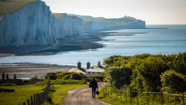 "Seven Sisters is a designated ""Area of Outstanding Natural Beauty."""