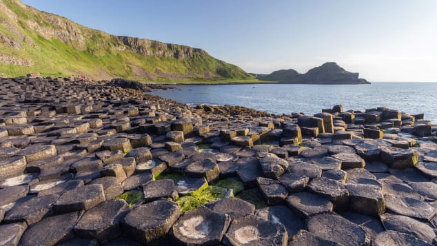 The Giant's Causeway was the first World Heritage site in Northern Ireland.
