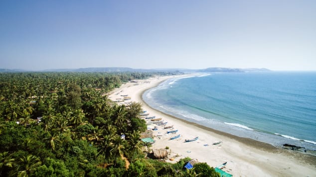 The Malabar Coast is over 845 kilometers long.