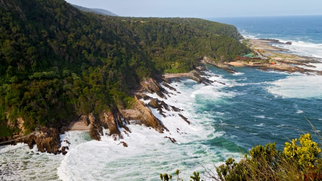 Tsitsikamma National Park -- part of South Africa's Garden Route National Park.