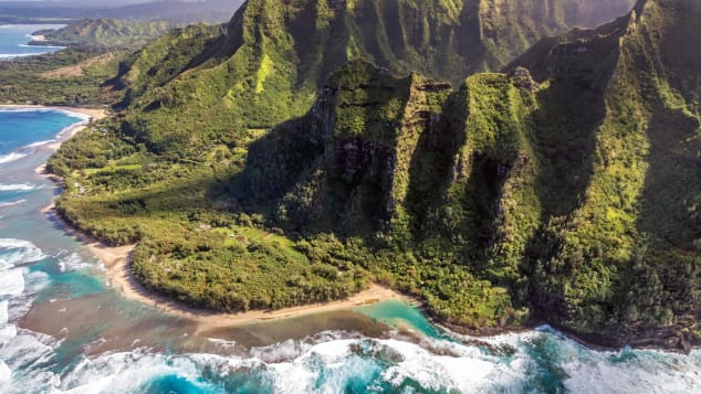 "Na Pali Coast is literally translated as ""the cliffs."""