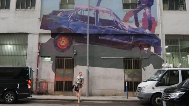 Χονγκ Κονγκ, Street Art, HKwalls, γκράφιτι, φεστιβάλ