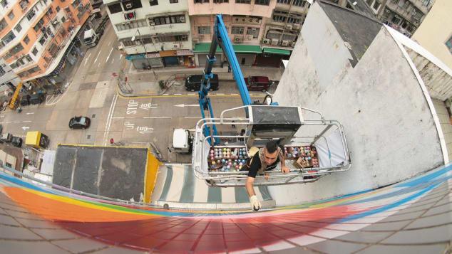 HKwalls Sham Shui Po γκράφιτι φεστιβάλ