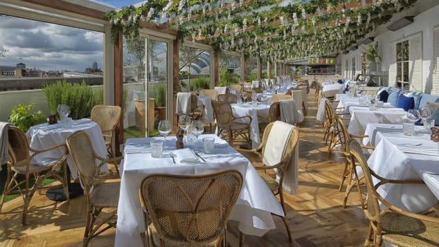 alto από το San Carlo.  Pop-up εστιατόριο στην αυλή του Selfridges, Λονδίνο