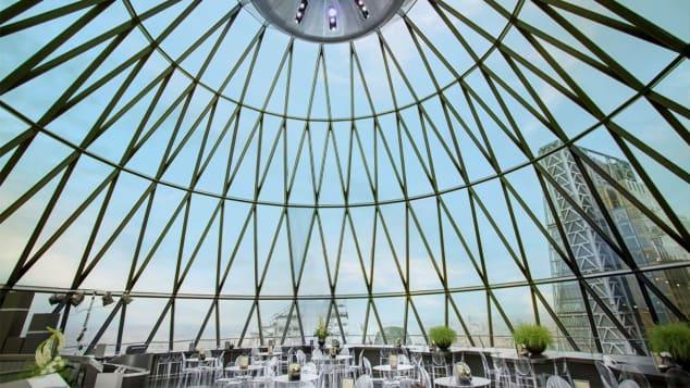 Εστιατόριο Helix και μπαρ Iris, επίπεδα 39 και 40 του Gherkin, Λονδίνο