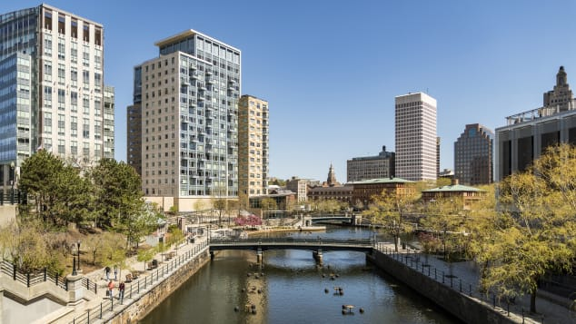 Providence is the capital of Rhode Island and is often referred to by its airport code of PVD.