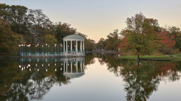Roger Williams Park is named for the state of Rhode Island's founder.