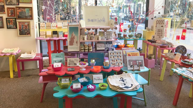 Colorful Craftland is like a real-life Etsy shop devoted to Rhode Island makers.