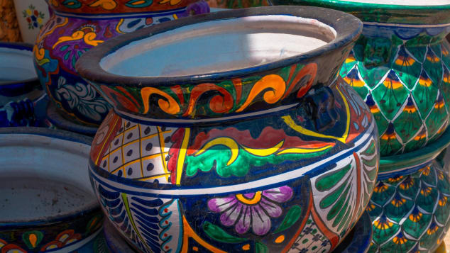Dolores Hidalgo pottery