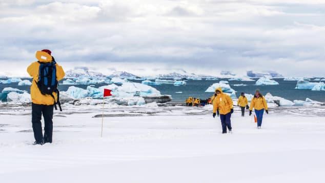 Hello from Antarctica.