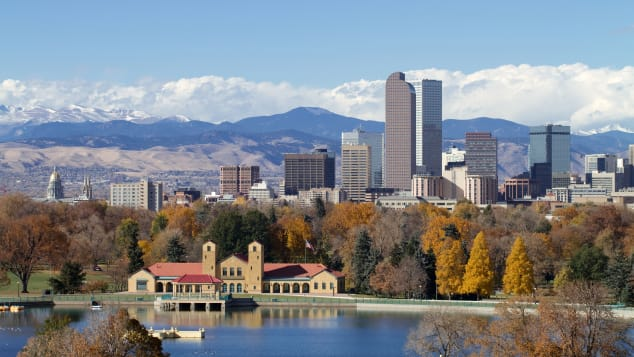 Colorado has no statewide travel restrictions, so you're free to check out Denver's scenic skyline for yourself.