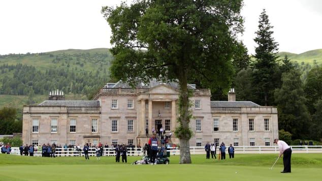 Best golf course Scotland Loch Lomond House 2