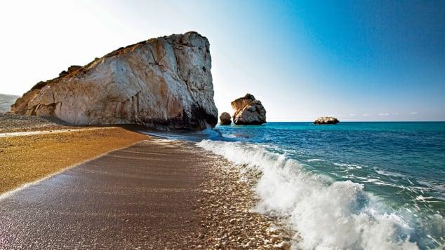 Aphrodite's rock (Petra tou Romiou) -- Cyprus Tourism Organisation