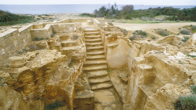 Tombs_of_the_Kings_Archaelogical_Park_Pafos ---- Κυπριακός Οργανισμός Τουρισμού