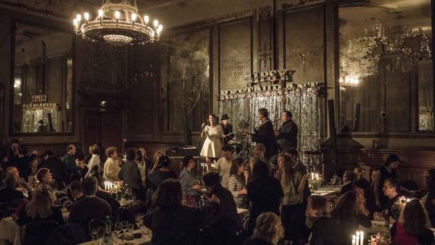 Clärchens Ballhaus epitomizes old-school Berlin glamour.