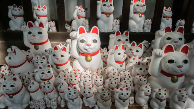 The Origin of the Japanese Lucky Cat