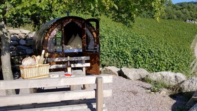 Schlafen im Weinfass, Germany
