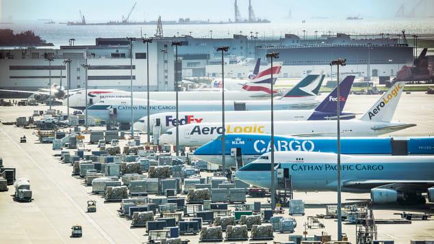 Hong Kong Airport Cargo_1