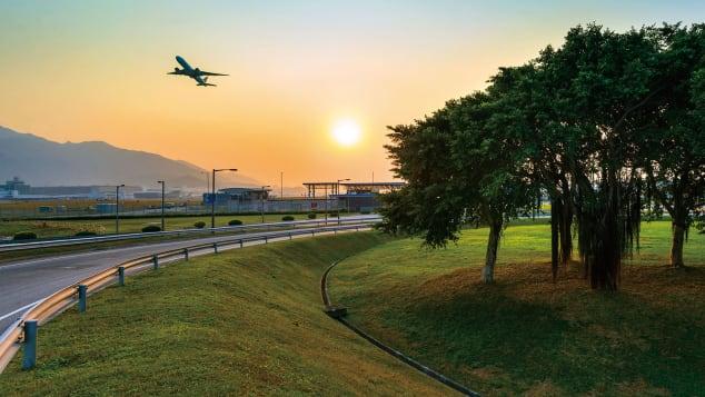 Hong Kong Airport Green airport_1