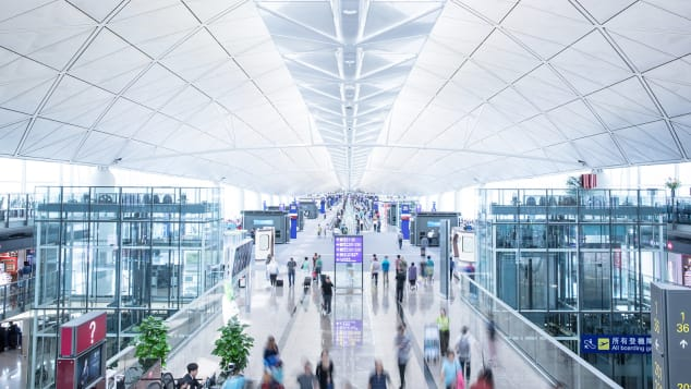 Hong Kong Airport Terminal 1_Interior_3