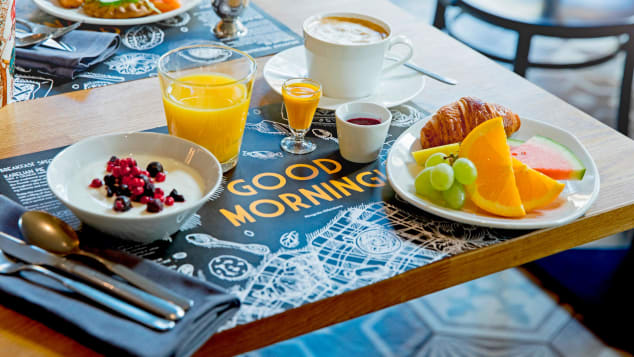 Krog Roba in Hotel Lilla Roberts: Breakfast is included for guests, and it's an unexpected delight. Juniper salted salmon, fresh fruit and juice and an array of bacon and egg options mean no one goes hungry.