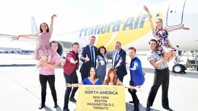 Primera Air Stansted Launch